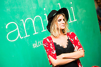 Amaia Salamanca is the image of the new campaign of Amichi in Madrid. July 06. 2016. (ALTERPHOTOS/Borja B.Hojas) /NortePhoto.com
