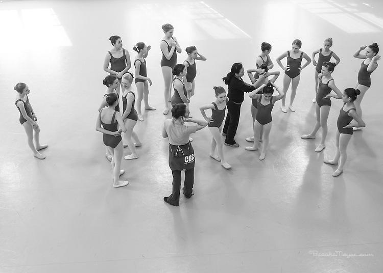 Cary Ballet Company Photos, 17 November 2012.