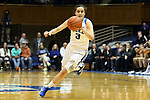 07 January 2016: Duke's Angela Salvadores (ESP). The Duke University Blue Devils hosted the Wake Forest University Demon Deacons at Cameron Indoor Stadium in Durham, North Carolina in a 2015-16 NCAA Division I Women's Basketball game. Duke won the game 95-68.