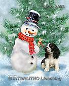 GIORDANO, CHRISTMAS SANTA, SNOWMAN, WEIHNACHTSMÄNNER, SCHNEEMÄNNER, PAPÁ NOEL, MUÑECOS DE NIEVE, paintings+++++,USGI2883,#X# ,#161#