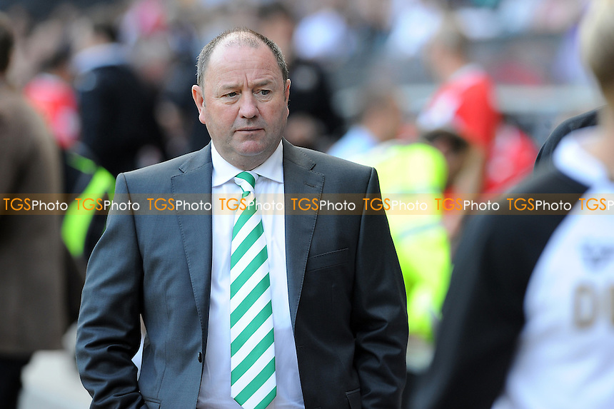 Yeovil Town manager Gary Johnson - MK Dons vs Yeovil Town - NPower League One Football at Stadium MK, Milton Keynes - 15/09/12 - MANDATORY CREDIT: Anne-Marie Sanderson/TGSPHOTO - Self billing applies where appropriate - 0845 094 6026 - contact@tgsphoto.co.uk - NO UNPAID USE.