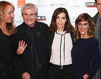 Claude Lelouche ,Victoria Bedos,Anne Parillaud - 27e Festival du film Britannique de Dinard - France, 29/09/2016