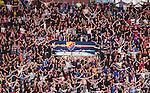 ***BETALBILD***  <br /> Stockholm 2015-09-19 Ishockey SHL Djurg&aring;rdens IF - Skellefte&aring; AIK :  <br /> Djurg&aring;rdens supportrar under matchen mellan Djurg&aring;rdens IF och Skellefte&aring; AIK <br /> (Foto: Kenta J&ouml;nsson) Nyckelord:  Ishockey Hockey SHL Hovet Johanneshovs Isstadion Djurg&aring;rden DIF Skellefte&aring; SAIK inomhus interi&ouml;r interior supporter fans publik supporters