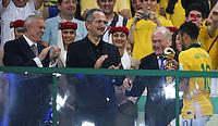 RIO DE JANEIRO, 30.06.2013 - COPA DAS CONFEDERAÇÕES - FINAL - BRASIL X ESPANHA -  Neymar apos recebe trofeu de melhor jogador apos da final da Copa das Confederações Estádio do Maracanã, na zona norte do Rio de Janeiro, neste domingo, 30. (Foto: Vanessa Carvalho / Brazil Photo Press)