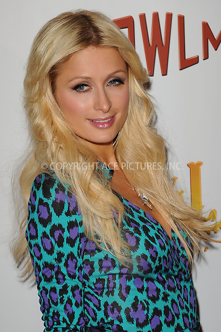 WWW.ACEPIXS.COM . . . . . ....October 8 2009, New York City....Paris Hilton at the opening of Carnival at Bowlmor Lanes on October 8 2009 in New York City....Please byline: KRISTIN CALLAHAN - ACEPIXS.COM.. . . . . . ..Ace Pictures, Inc:  ..tel: (212) 243 8787 or (646) 769 0430..e-mail: info@acepixs.com..web: http://www.acepixs.com