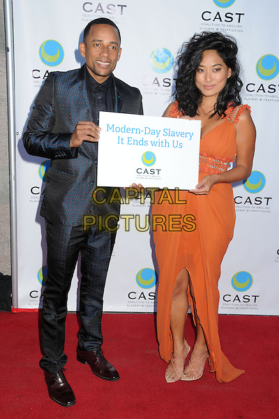 29 May 2014 - Los Angeles, California - Hill Harper, Chloe Flowers. 16th Annual &quot;From Slavery to Freedom&quot; Gala Event held at The Skirball Center.  <br /> CAP/ADM/BP<br /> &copy;Byron Purvis/AdMedia/Capital Pictures