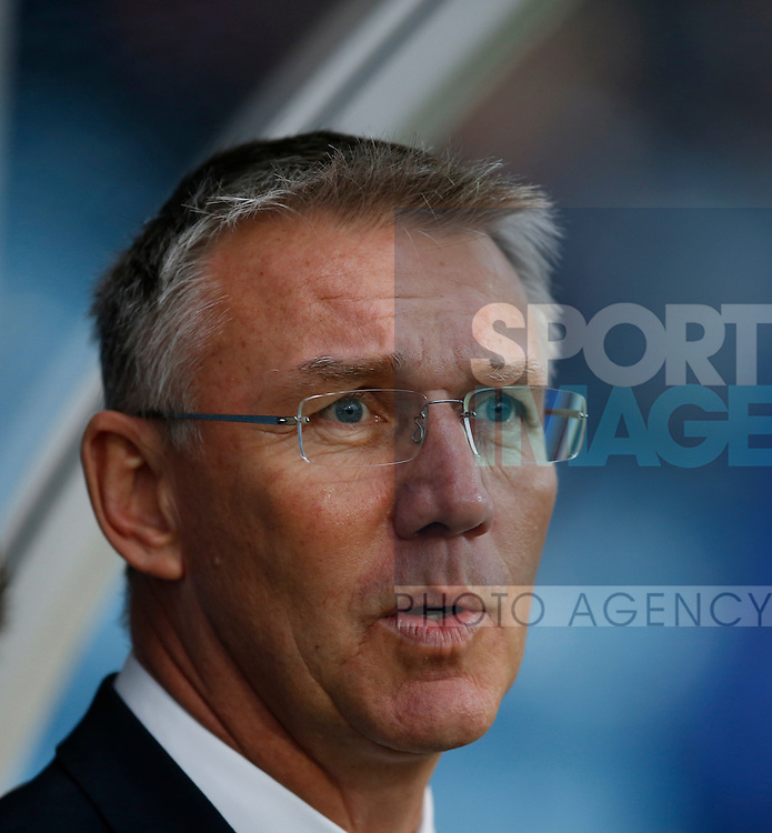 Nigel Adkins manager of Sheffield Utd - English League One - Scunthorpe Utd vs Sheffield Utd - Glandford Park Stadium - Scunthorpe - England - 19th December 2015 - Pic Simon Bellis/Sportimage