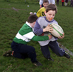 Kids at the coaching clinic at Shamrock Lodge..Picture Paul Mohan Newsfile
