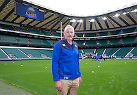 Bath Director of Rugby Todd Blackadder. Bath Rugby's Todd Blackadder at Twickenham Stadium - 22/09/2016 - to launch The Clash against Leicester Tigers on 8th April 2017<br /> <br /> Andrew Fosker / Seconds Left Images