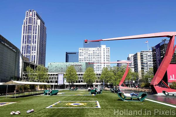 Nederland Rotterdam 2018. Rotterdam Circusstad op het Schouwburgplein. Foto Berlinda van Dam / Hollandse Hoogte