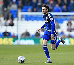 Cardiff's Scott Malone in action during the Sky Bet Championship League match at The Cardiff City Stadium.  Photo credit should read: David Klein/Sportimage via PA Images