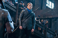 Robin Hood (2018)<br /> Taron Egerton stars as &ldquo;Robin&rdquo;  <br /> *Filmstill - Editorial Use Only*<br /> CAP/KFS<br /> Image supplied by Capital Pictures