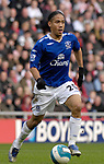 Everton's Steven Pienaar. during the Premier League match at the Stadium of Light, Sunderland. Picture date 9th March 2008. Picture credit should read: Richard Lee/Sportimage