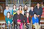 Glenflesk NS pupils who were confirmed by Bishop Bill Murphy in Glenflesk on Monday front row l-r: Katie Hickey, Laoise Cronin, Maeve Tangney. Back row: Mark O'Donoghue, Leona Buckley, Ciara O'Donoghue, Amy Lucey, Jack O'Donoghue and Paul Favier..