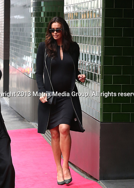 28 FEBRUARY 2014 SYDNEY AUSTRALIA<br /> <br /> NON EXCLUSIVE <br /> <br /> Megan Gale pictured leaving Charlotte Dawson's Memorial Service <br /> *No internet without clearance*<br /> MUST CALL PRIOR TO USE .<br /> +61 2 9211-1088<br /> Matrix Media Group<br /> Note: All editorial images subject to the following: For editorial use only. Additional clearance required for commercial, wireless, internet or promotional use.Images may not be altered or modified. Matrix Media Group makes no representations or warranties regarding names, trademarks or logos appearing in the images.
