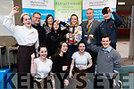 Pictured at the IT Tralee Enterprise awards on Friday morning last, were front l-r: Greta Smit, Claire Beasley, Sophie Lynch, and Tomás Culhane. Back l-r: Miriam Hanlon, John Loughrey, Emma Hogan, Eilish O'Donoghue (Teacher), Linda Flynn, Victor Sheehan and Conor Heaphy.