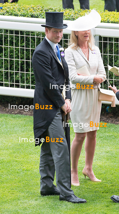 ROYAL ASCOT 2014 LADIES DAY - PRINCE HARRY<br /> The Queen, Duke of Edinburgh, Princes Andrew and Harry Prince Harry, Princesses Anne, Eugenie and Beatrice in attendance on the LadiesDay of the 4-day Royal Ascot Race Meeting.<br /> United Kingdom, Ascot, June 19, 2014.