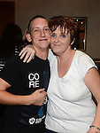 Caroline Smith and Steven Reilly at the White Collar Boxing in City North Hotel. Photo:Colin Bell/pressphotos.ie