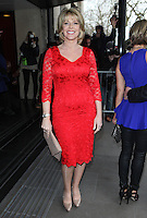 Ruth Langsford arriving for the TRIC Awards 2014, at Grosvenor House Hotel, London. 11/03/2014 Picture by: Alexandra Glen / Featureflash