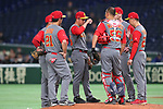 China team group (CHN), <br /> MARCH 8, 2017 - WBC : <br /> 2017 World Baseball Classic <br /> First Round Pool B Game <br /> between China - Cuba <br /> at Tokyo Dome in Tokyo, Japan. <br /> (Photo by YUTAKA/AFLO SPORT)