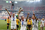 FIFA Women's World Cup France 2019 - Final USA vs NED in Lyon, on July 7, 2019. 13 Alex Morgan (USA) FW, Megan Rapinoe (USA) FW, 20 Allie Long (USA) MF