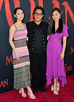 """LOS ANGELES, CA: 09, 2020: Jet Li & Family at the world premiere of Disney's """"Mulan"""" at the El Capitan Theatre.<br /> Picture: Paul Smith/Featureflash"""