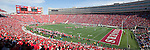 A panoramic view of Camp Randall Stadium during the Wisconsin Badgers NCAA college football game against the Austin Peay Governors on September 25, 2010 in Madison, Wisconsin. The Badgers beat the Governors 70-3. (Photo by David Stluka)