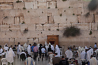 Ever since the destruction of the Second Temple in 70 A.D., Jews have gathered in pilgrimage at the Western Wall