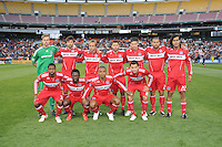 Chicago Fire team photo. The Chicago Fire defeated DC United 2-0 at RFK Stadium, Saturday April 17, 2010.
