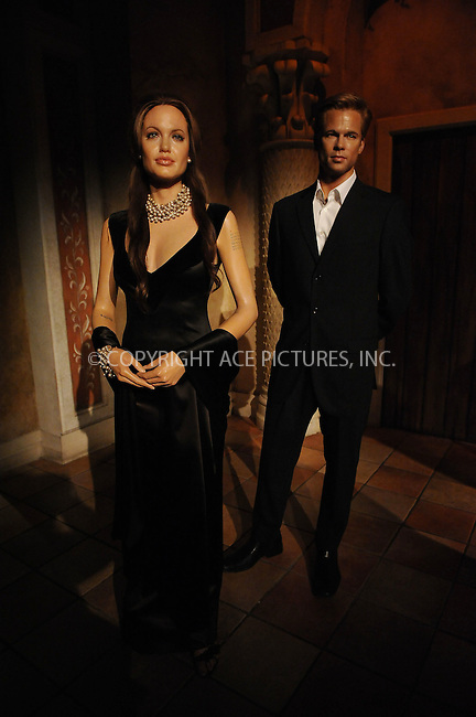 WWW.ACEPIXS.COM . . . . . ....January 26 2010, New York City....Wax figures of Angelina Jolie and Brad Pitt on display at Madame Tussaud's on January 26 2010 in New York City. ....Please byline: KRISTIN CALLAHAN - ACEPIXS.COM.. . . . . . ..Ace Pictures, Inc:  ..tel: (212) 243 8787 or (646) 769 0430..e-mail: info@acepixs.com..web: http://www.acepixs.com
