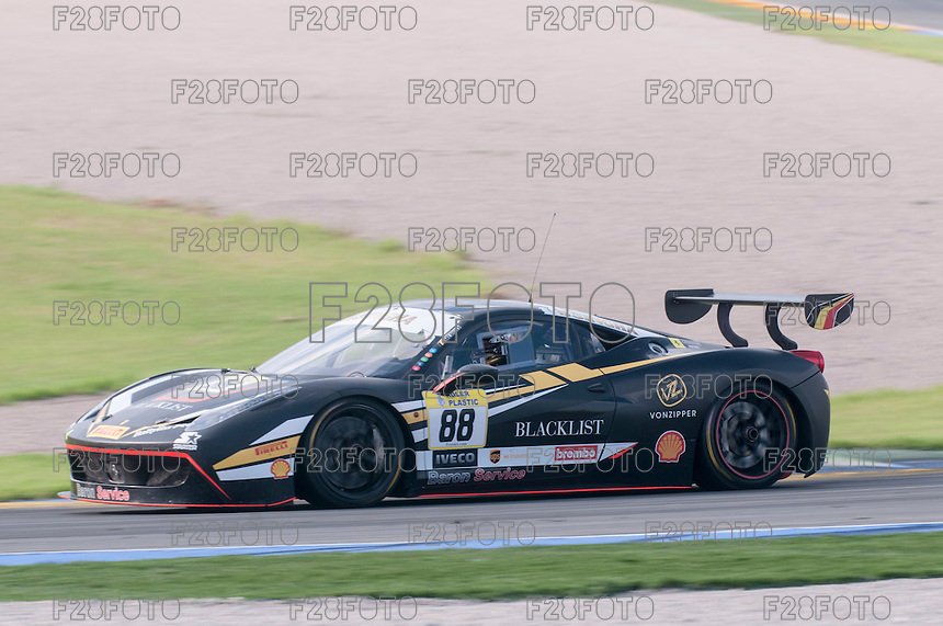 VALENCIA, SPAIN - OCTOBER 2: Florian Merckx during Valencia Ferrari Challenge 2015 at Ricardo Tormo Circuit on October 2, 2015 in Valencia, Spain