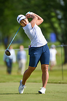 Nasa Hataoka (JPN) watches her tee shot on 12 during the round 1 of the KPMG Women's PGA Championship, Hazeltine National, Chaska, Minnesota, USA. 6/20/2019.<br /> Picture: Golffile | Ken Murray<br /> <br /> <br /> All photo usage must carry mandatory copyright credit (© Golffile | Ken Murray)