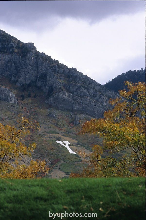 Y 2000/10-123..Y Mountain in the fall.  ..October 2000..Photo by: Mark Philbrick/BYU..Copyright BYU PHOTO 2007..All Rights Reserved..(801) 422-7322.photo@byu.edu.
