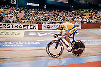 Moreno De Pauw (BEL/SportVlaanderen-Baloise) full gas<br /> <br /> Lotto 6daagse Vlaanderen-Gent 2018 / Gent6<br /> day 5