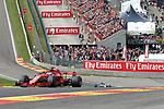 26.08.2018, Circuit de Spa-Francorchamps, Spa-Franchorchamps, FORMULA 1 2018 JOHNNIE WALKER BELGIAN GRAND PRIX, 23. - 26.08.2018<br /> , im Bild<br />Sebastian Vettel (GER#5), Scuderia Ferrari<br /> <br /> Foto &copy; nordphoto / Bratic