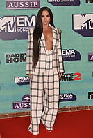Demi Lovato<br /> MTV EMA Awards 2017 in Wembley, London, England on November 12, 2017<br /> CAP/PL<br /> &copy;Phil Loftus/Capital Pictures