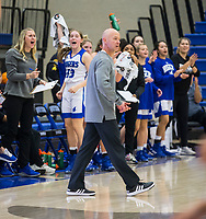 NWA Democrat-Gazette/BEN GOFF @NWABENGOFF<br /> The Rogers bench reacts to a basket vs Fort Smith Southside Tuesday, Nov. 26, 2019, at King Arena in Rogers.