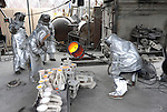 The Casting Of The Screen Actors Guild Awards Statuette, at American Fine Arts Foundry in Burbank Ca. on January 9, 2014.