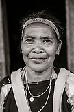 INDONESIA, Flores, Ngada District, portrait of a local woman at  Belaraghi Village