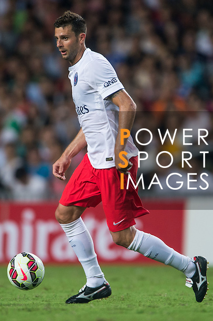 Thiago Motta of Paris Saint-Germain in action during Kitchee SC vs Paris Saint-Germain during the The Meeting of Champions on July 29, 2014 at the Hong Kong stadium in Hong Kong, China.  Photo by Aitor Alcalde / Power Sport Images
