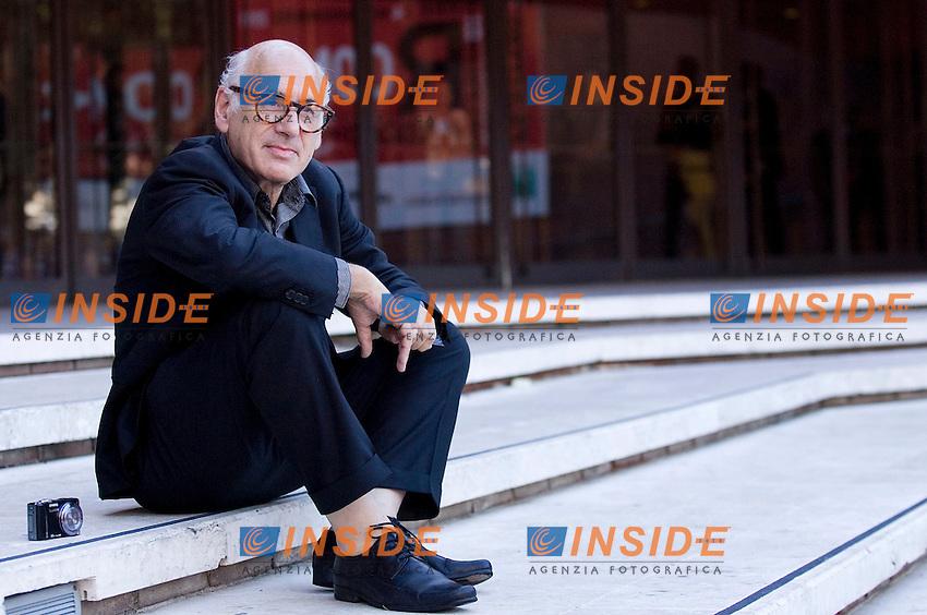 Michael Nyman..FESTIVAL INTERNAZIONALE DEL CINEMA DI ROMA. ..ROMA CINEMA FEST. ..Hotel Lux   Photo Call ..Roma, 29 Ottobre 2011 ..Photo Serena Cremaschi Insidefoto