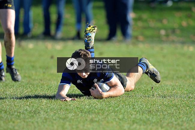 Press Cup, Christchurch BHS vs Marlborough BC, Christchurch, New Zealand, Saturday 28 June 2014, Photo: Barry Whitnall/shuttersport.co.nz