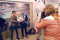 15-02-2005,Rotterdam, ABNAMROWTT , met de trofee op de kiek