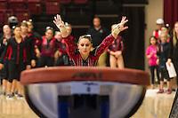 STANFORD, CA, March 3, 2014.Stanford Women's Gymnastics versus Cal at Stanford. Stanford won 197 to 196.3