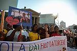 Palermo: manifestazione a sostegno della Capitana Carola Rackete.