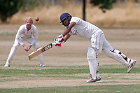 Oakfield Parkonians CC (batting) vs Wickford CC, Shepherd Neame Essex League Cricket at Oakfield Playing Fields on 4th August 2018