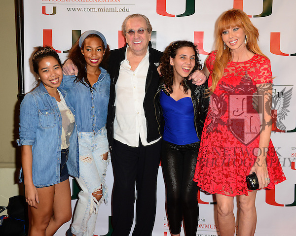 CORAL GABLES, FL - NOVEMBER 20: Danny Aiello and Rebekah Chaney attend the premiere screening Of 'Reach Me' Hosted by University Of Miami inside the BankUnited Center Fieldhouse at University of Miami on Thursday November 20, 2014 in Coral Gables, Florida. (Photo by Johnny Louis/jlnphotography.com)
