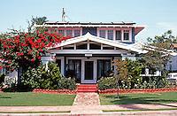 San Diego: Craftsman House, 3106 Maple.  (Photo '82)