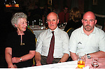 Angela, Johnny, and Brian Sheeran at the 40th anniversary of the Lourdes Brass Band and Majorettes.