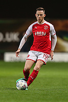 Gethin Jones of Fleetwood Town during the Sky Bet League 1 match between Oxford United and Fleetwood Town at the Kassam Stadium, Oxford, England on 10 April 2018. Photo by David Horn.